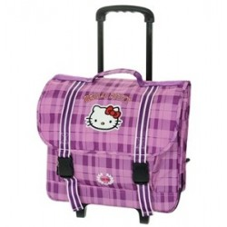 Cartable trolley 41 cm Hello Kitty