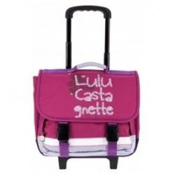 Cartable scolaire à roulettes 38 cm Lulu Castagnette