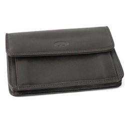Pochette monnaie ceinture en cuir lisse ref 553037