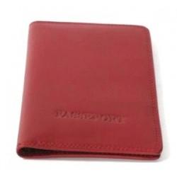 Porte passeport en cuir lisse Katana