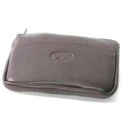 Porte-monnaie clés en cuir