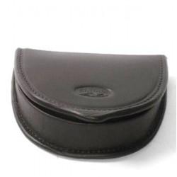 Porte-monnaie homme en cuir lisse ref 553034