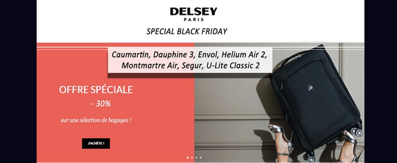 Valises Delsey